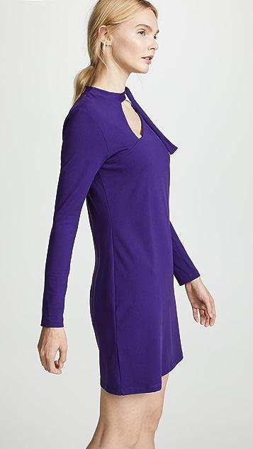 Susana Monaco Neckline Detail Dress