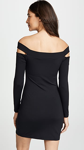 Susana Monaco Off the Shoulder Cutout Dress