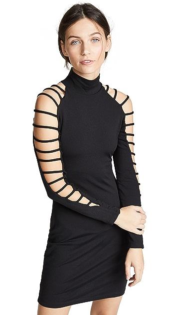 Susana Monaco Cutout Mini Dress