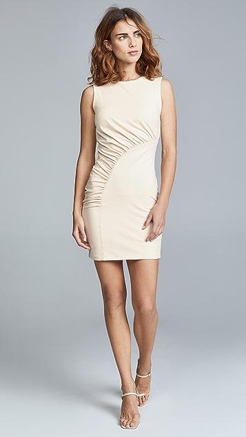 Susana Monaco Sleeveless Gathered Curve Dress