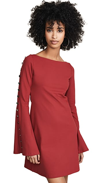 Susana Monaco Bell Sleeve Dress