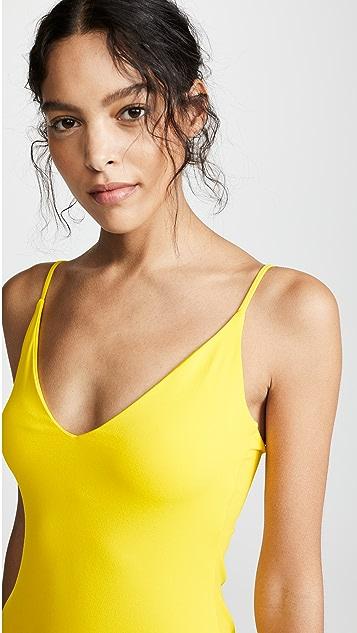 Susana Monaco Ruffle Tank Dress