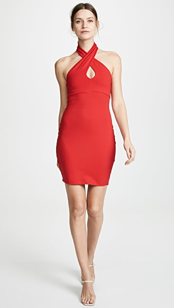 Susana Monaco Cross Front Dress