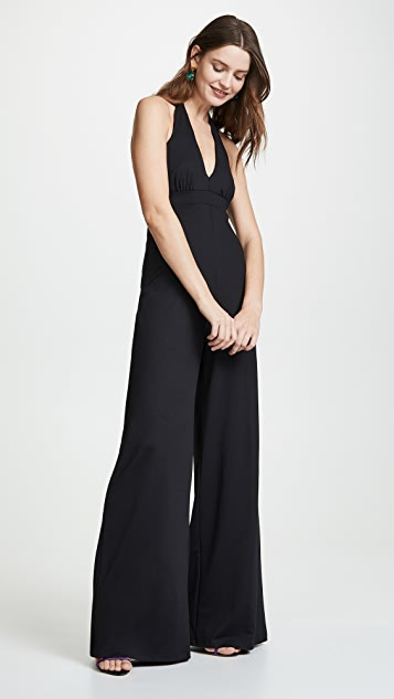 Susana Monaco Gathered Front Jumpsuit