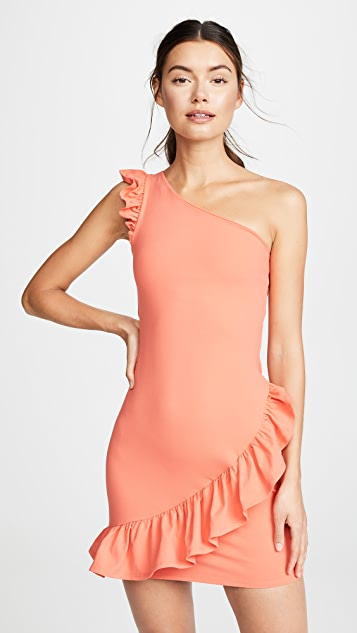 Susana Monaco Ruffle Dress