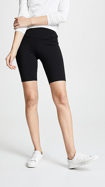 Susana Monaco Mid Length Bike Shorts