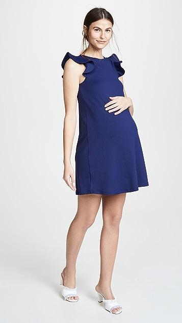 Susana Monaco Maternity Ruffle Tank Dress