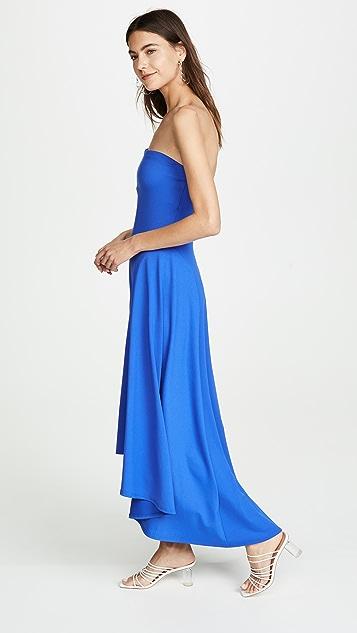 Susana Monaco High Low Strapless Dress
