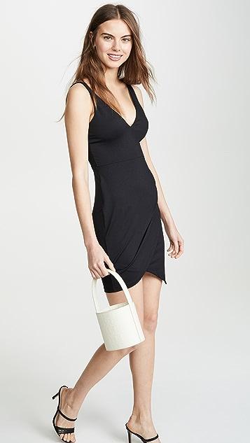 Susana Monaco Side Pleat Dress