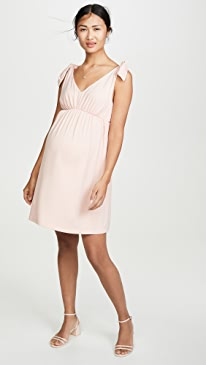 Isabelline Maternity Fit And Flare Dress