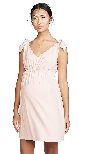 Susana Monaco Расклешенное платье для беременных Isabelline
