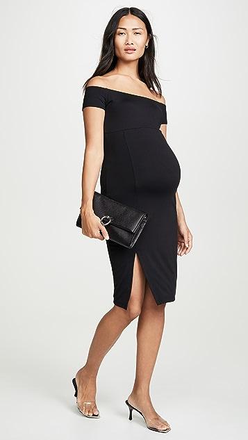 Susana Monaco Платье с открытыми плечами для беременных