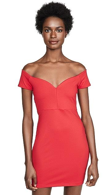 Susana Monaco Платье с открытыми плечами