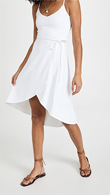 Susana Monaco V Neck Wrap Dress