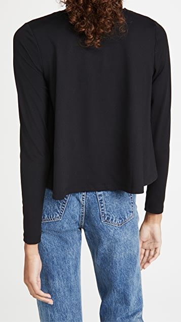 Susana Monaco Long Sleeve Flare Top