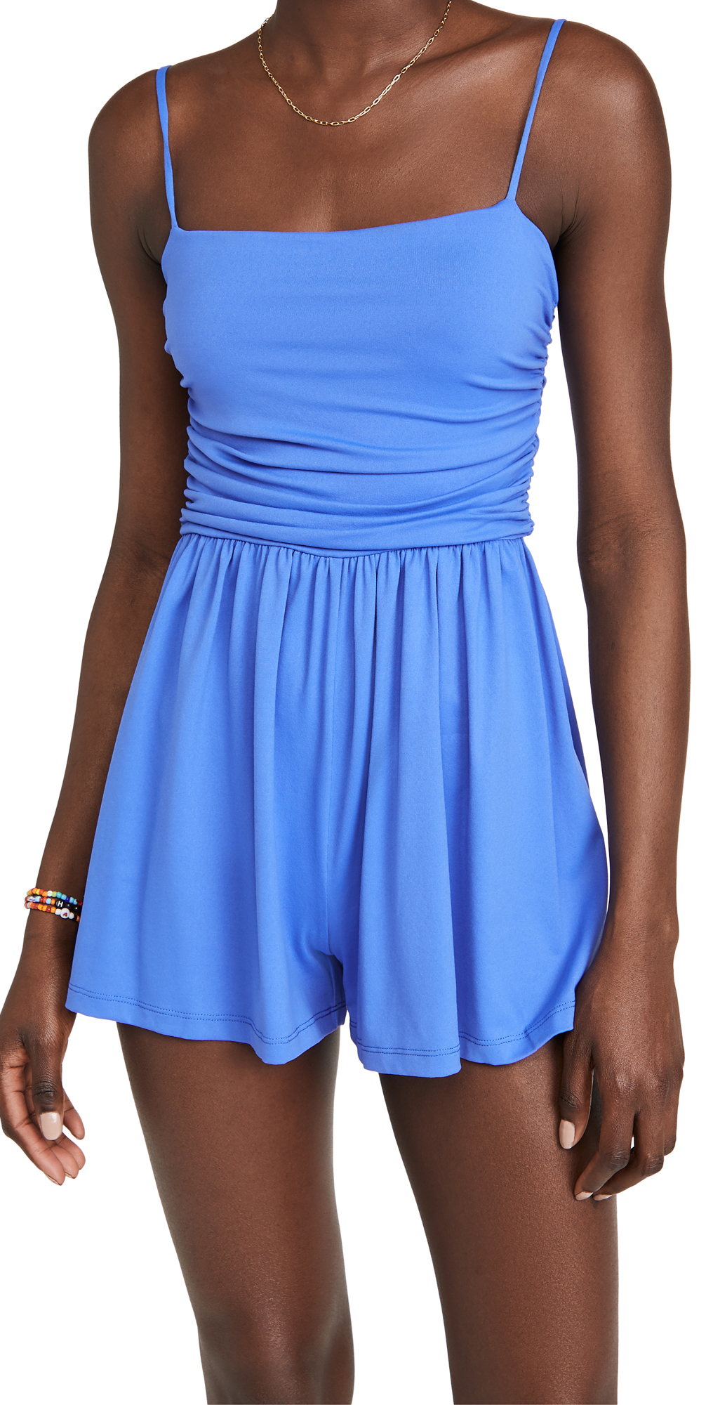 Susana Monaco String Rouched Romper