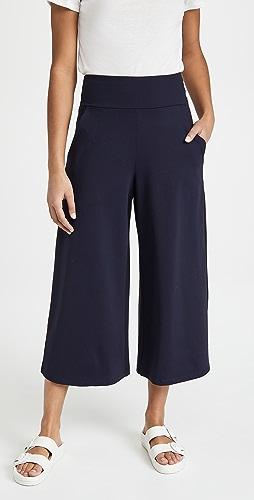 Susana Monaco - High Waist Relaxed Pocket Pull On Pants