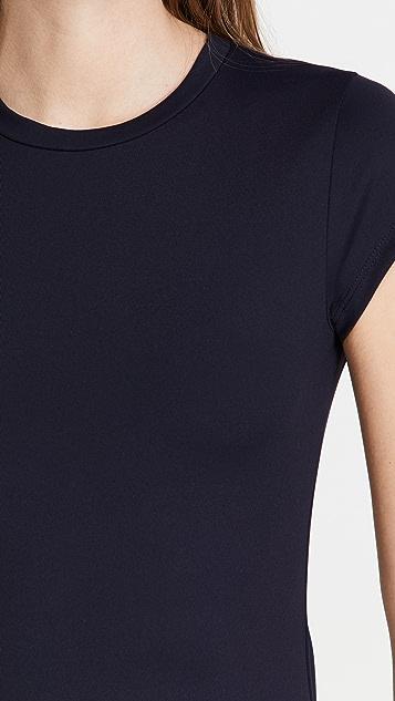 Susana Monaco Side Slit T-Shirt Dress
