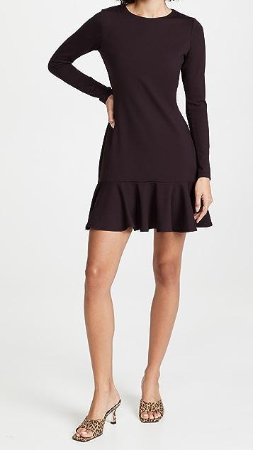 Susana Monaco Ruffle Bottom Dress