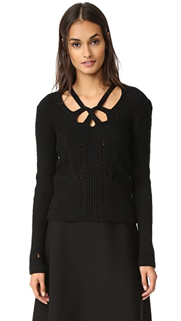 Spencer Vladimir The Dahlia Cashmere Sweater
