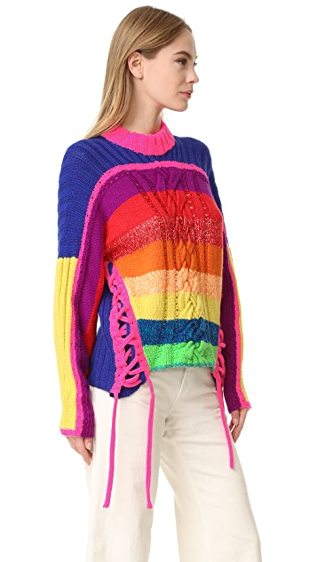 Spencer Vladimir The Rainbow Sweater