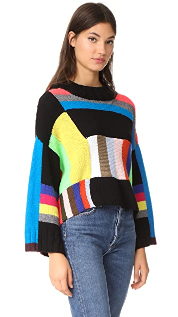 Spencer Vladimir Rio Grande Stripe Cashmere Sweater