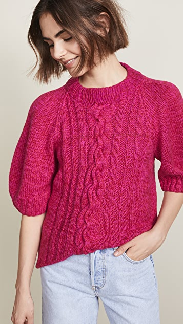 Spencer Vladimir Balloon Sleeve Sweater