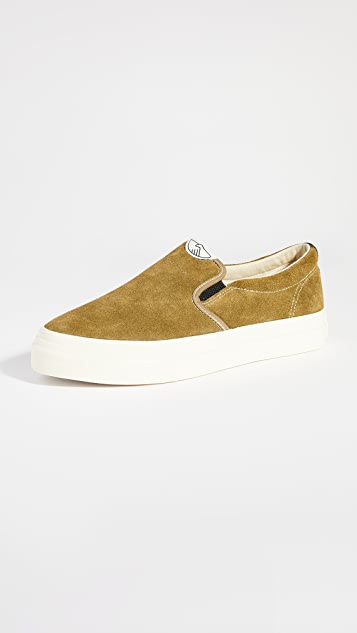 S.W.C Stepney Workers Club Lister Slip On Suede Sneakers