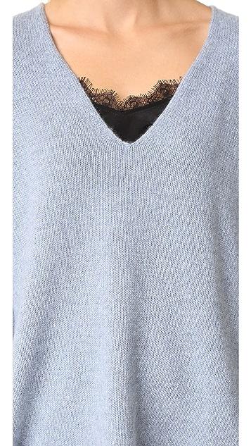 360 SWEATER Ramona V Neck Sweater