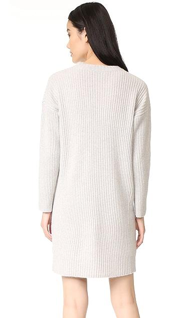 360 SWEATER Keegan Cashmere Sweater Dress