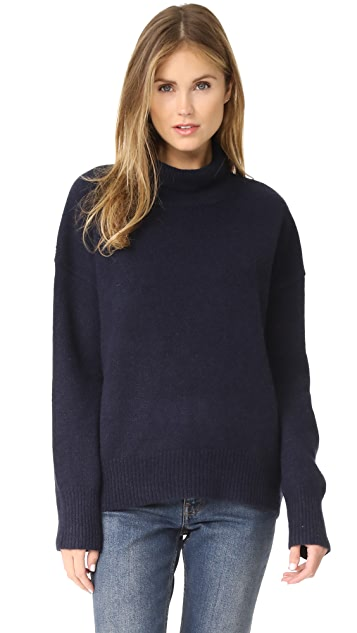 360 SWEATER Olive Cashmere Sweater