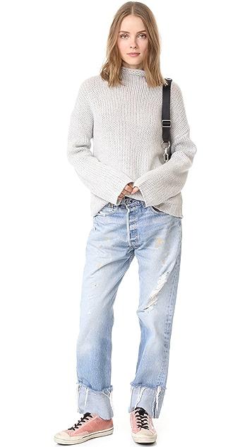 360 SWEATER Nikki Cashmere Sweater