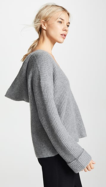 dcf9875ea63e6b 360 SWEATER Eloise Cashmere Sweater | SHOPBOP