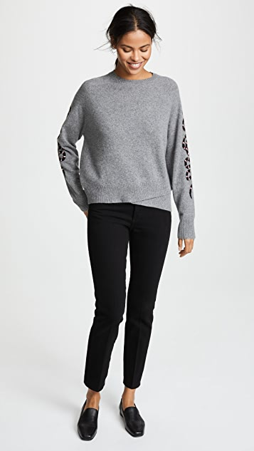 360 SWEATER Cashmere Serpent Sweater