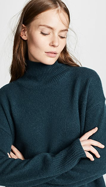 360 SWEATER Valeria Cashmere Turtleneck Sweater