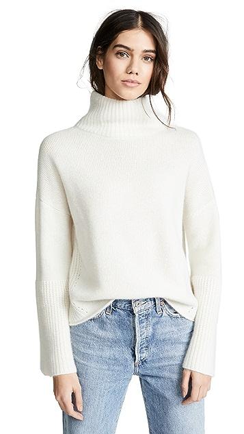 360 SWEATER Lulu Cashmere Turtleneck Sweater