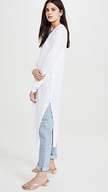 360 SWEATER Linen Autumn Cardigan