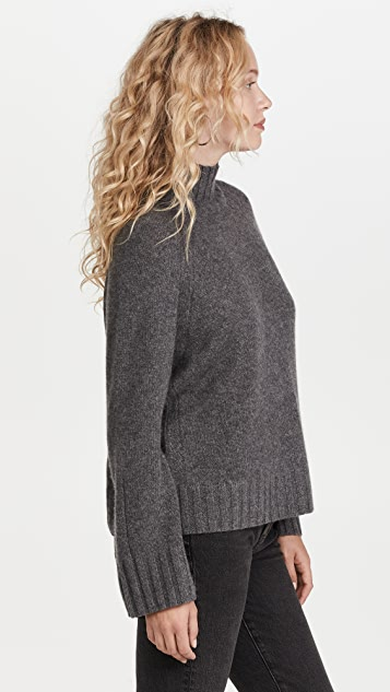 360 SWEATER Cashmere Leighton Sweater
