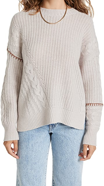 360 SWEATER Tawnie Cashmere Sweater