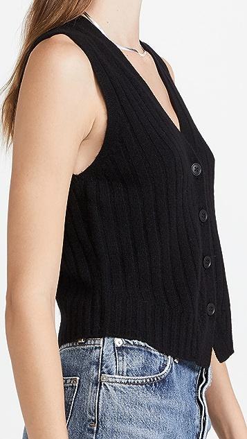 360 SWEATER Julie Cashmere Vest