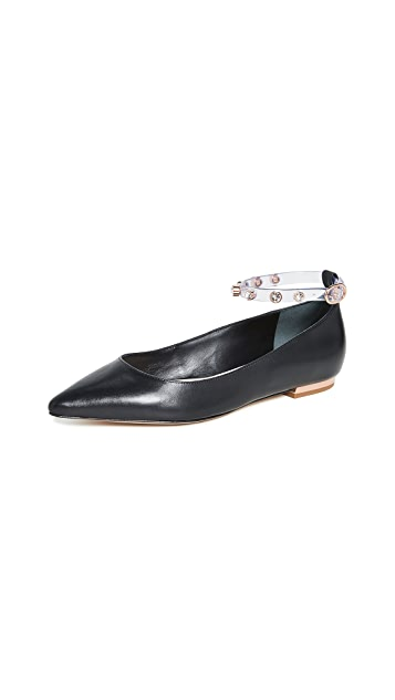 Sophia Webster Dina Gem Flats