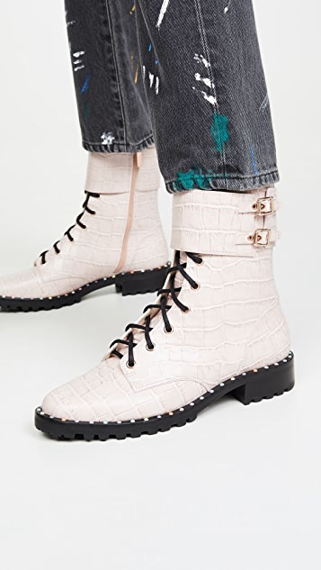 Sophia Webster Bessie Lace up Boots
