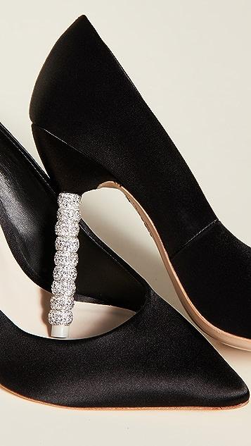 Sophia Webster Туфли-лодочки с кристаллами Coco