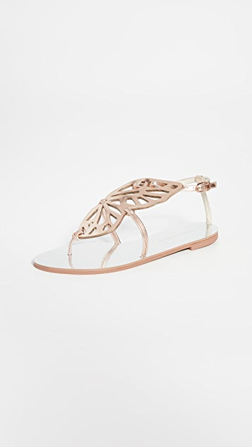 Sophia Webster Butterfly Flat Sandals