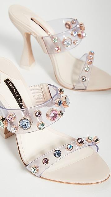 Sophia Webster Dina Gem 穆勒鞋