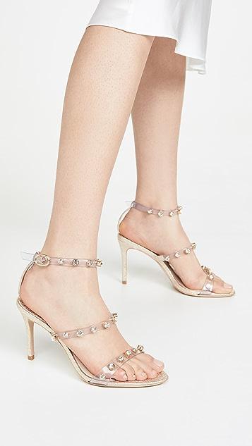 Sophia Webster Сандалии на среднем каблуке Rosalind с камнями