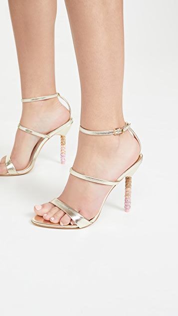Sophia Webster Rosalind 水晶凉鞋
