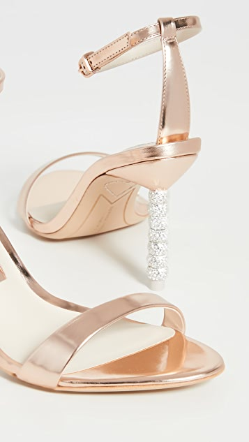 Sophia Webster Haley Crystal Mid Sandals