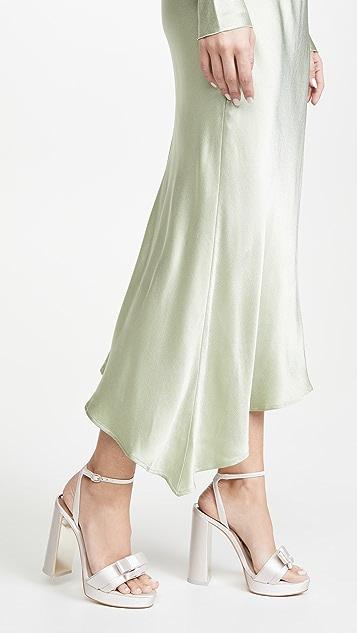 Sophia Webster Andie 蝴蝶结厚底凉鞋