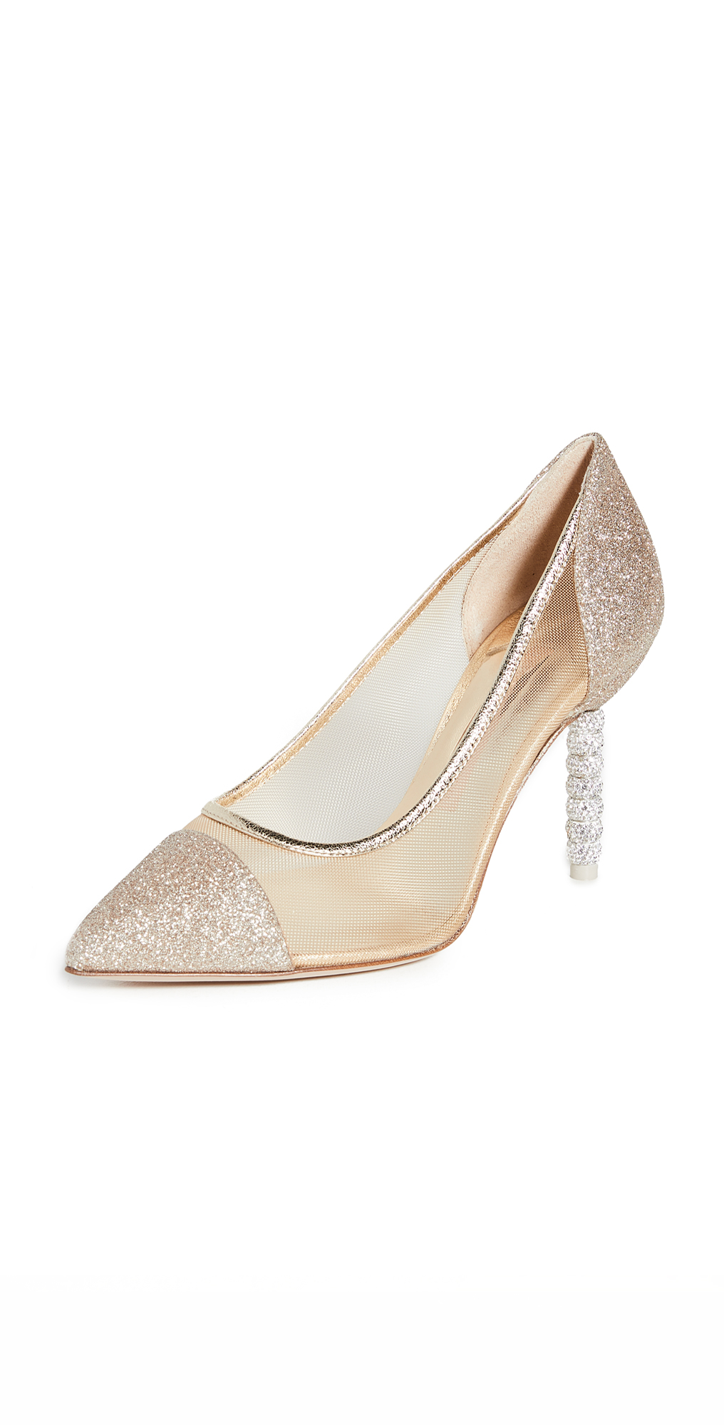 Sophia Webster Jasmine Crystal Mid Pumps